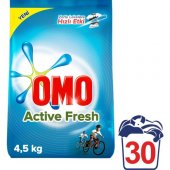 Omo Toz Çamaşır Deterjanı Actıve Fresh 4.5 Kg