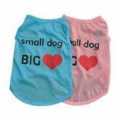 Kedi Ve Köpek İçin Small Dog Big Love Elbise,kıyafet