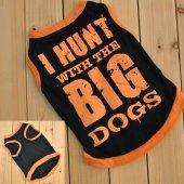 Kedi Ve Köpek İçin I Hunt Wıth The Bıg Dogs Elbise,kıyafet