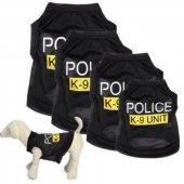 Kedi Ve Köpek İçin K9 Polis Elbise,kıyafet, Xs S M L Beden