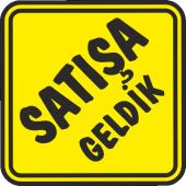 Satısa Geldık Sticker
