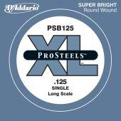 Daddario Psb125 Single Prosteels Tek Bas Gitar Teli (0125 Si)