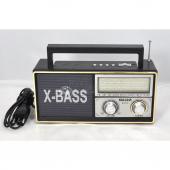 Meier M U105 X Bass Taşınabilir Analog Radyo Mp3 Müzik Çalar
