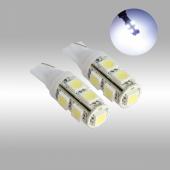 T10 Led 2 Adet Araç Park Lambası Led Beyaz Işık Dipsiz Ampul