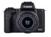 Canon Eos M50 Ef M 15 45mm F 3.5 6.3 Is Stm Lens Fotoğraf Makines