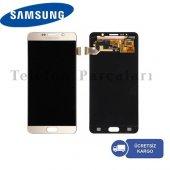 Samsung Galaxy Note 5 Lcd Servis Ekranı Gold