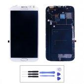 Samsung Galaxy Note 2 N7100 Lcd Ekran Dokunmatik + Montaj Seti