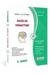 Sağlık Yönetimi 3. Sınıf Bahar Dönemi Egem Yayınları