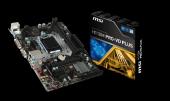 Msı H110m Pro Vd Plus Lga 1151 (Soket H4) Intel H110 Ddr4 Anakart