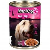Eurodog Köpek Konservesi Biftekli 415 Gr (10)