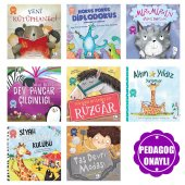 Pedagog Onaylı Uyku Vakti Hikayeleri 8 Kitap