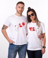Tshirthane Lo Ve Balon Sevgili Kombini Tişörtleri