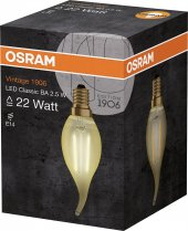 Osram Vintage 1906 Led Classıc A Gold 22watt Non Dim 2.5w 825 E14