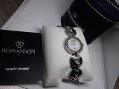 Romanson Rd0293 Çelik Taşlı Zarif Model Bayan Kol Saati