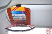 Araç İçi Kartlık Oto Güneşlik Kart Cüzdan Güneş Gözlüğü Sabitleyici Ceplik Organizer