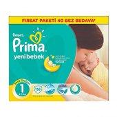 Prima Bebek Bezi Yeni Bebek 1 Beden Fırsat Paketi 156 Adet