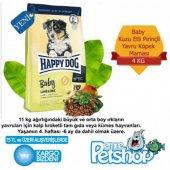 Happy Dog Baby Kuzu Etli Pirincli Kopek Maması 4kg