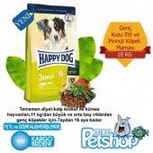Happy Dog Junior Kuzu Etli Pirincli Kopek Maması 10kg