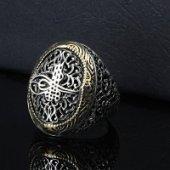 Osmanlı Tuğralı Gümüş Erkek Yüzük