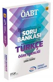 Murat Yayınları Kpss Öabt Türkçe Öğretmenliği Tamamı Açıklamalı Soru Bankası