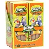 Jungle Kuşlar Için Kumlu Tünek (4lü Paket)