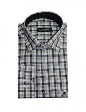 Lugon 0302 Klasik Kesim Uzun Kol Gömlek