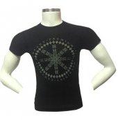 Steel Slim Fit Sıfır Yaka Erkek Tişört