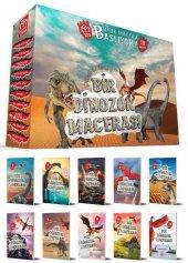2. Ve 3.sınıf Bir Dinozor Macerası Hikaye Seti 10 Kitap Testli