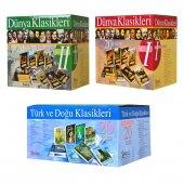 Dünya Klasikleri 1 Ve 2 Türk Ve Doğu Klasikleri Setleri 64 Kitap