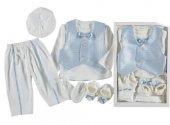 Eren Baby 0 3 Ay Papyonlu Çocuk Mevlütlük Takım Elbise