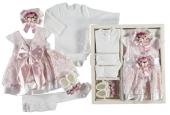 Kız Bebek Mevlütlük Elbise Seti