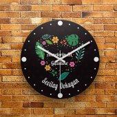 Fmc1271 Anneler Gününe Özel Hediye Mdf Duvar Saati 39cm