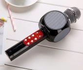 Karaoke Mikrofon Led Işıklı Bluetooth Hoparlör Mp3 Mikrofon Karaoke Sonıa Sx 777