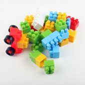 Lego Seti 74 Parça Vakumlu Kutu Midi Blok Çocuk Oyun Lego Seti