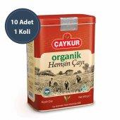 çaykur Organik Hemşin Çayı 400 Gr Teneke Kutu 10 Adet 1 Koli Ücretsiz Kargo