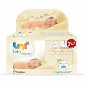 Uni Baby Yenidoğan Islak Mendil 3 Lü Avantaj Paketi 40 X 3 Adet