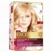 Lor� Al Excellence Creme Saç Boyası 10 Açık Sarı...