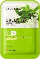 Leaders Labotica Green Tea Skin Soft Mask