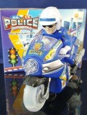 Polis Motorsikleti Işıklı Sesli Hareketli Polis Mo...