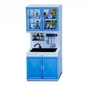 Modern Mavi Mutfak Set