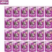 Whiskas Pouch Somonlu Kedi Maması 100g 24&#039 Lü