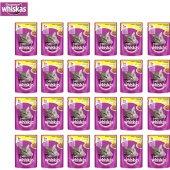 Whiskas Pouch Tavuklu Kedi Maması 100g 24&#039 Lü
