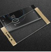 Sony Xperia Xa Tam Kapatan Kavisli 3d Cam Altın