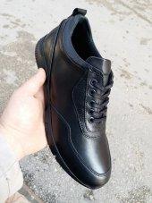 New Prato Erkek Ayakkabı 89 Siyah Antik Deri