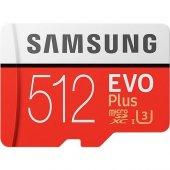 Samsung Evo Plus 512gb 100 Mb S Microsdxc Kart (Sd Adaptör) Mb Mc