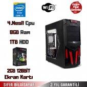 Intel Core İ5 4.nesil 8gb Ram 1tb Hdd 2gb 128bit Ekran Kartı Masaüstü Bilgisayar