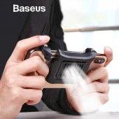 Baseus Fanlı Soğutmalı Oyuncu Telefon Tutucu Pubg Tetik Aparatı S
