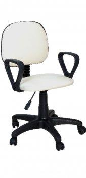 Sekreter Koltuğu Ofis Sandalyesi Bilgisayar Koltuğu Beyaz