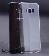 Samsung Galaxy S8 Kılıf Şeffaf Sert Arka Kapak Koruyucu Clear Cov