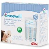 Weewell Wms825 Süt Saklama Poşeti 25lik Paket Seçe...